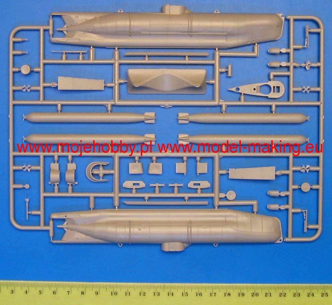 ICM 1//72 scale Model Kit U-BOAT TYPE XXVIIB SEEHUND Early SGIC 006