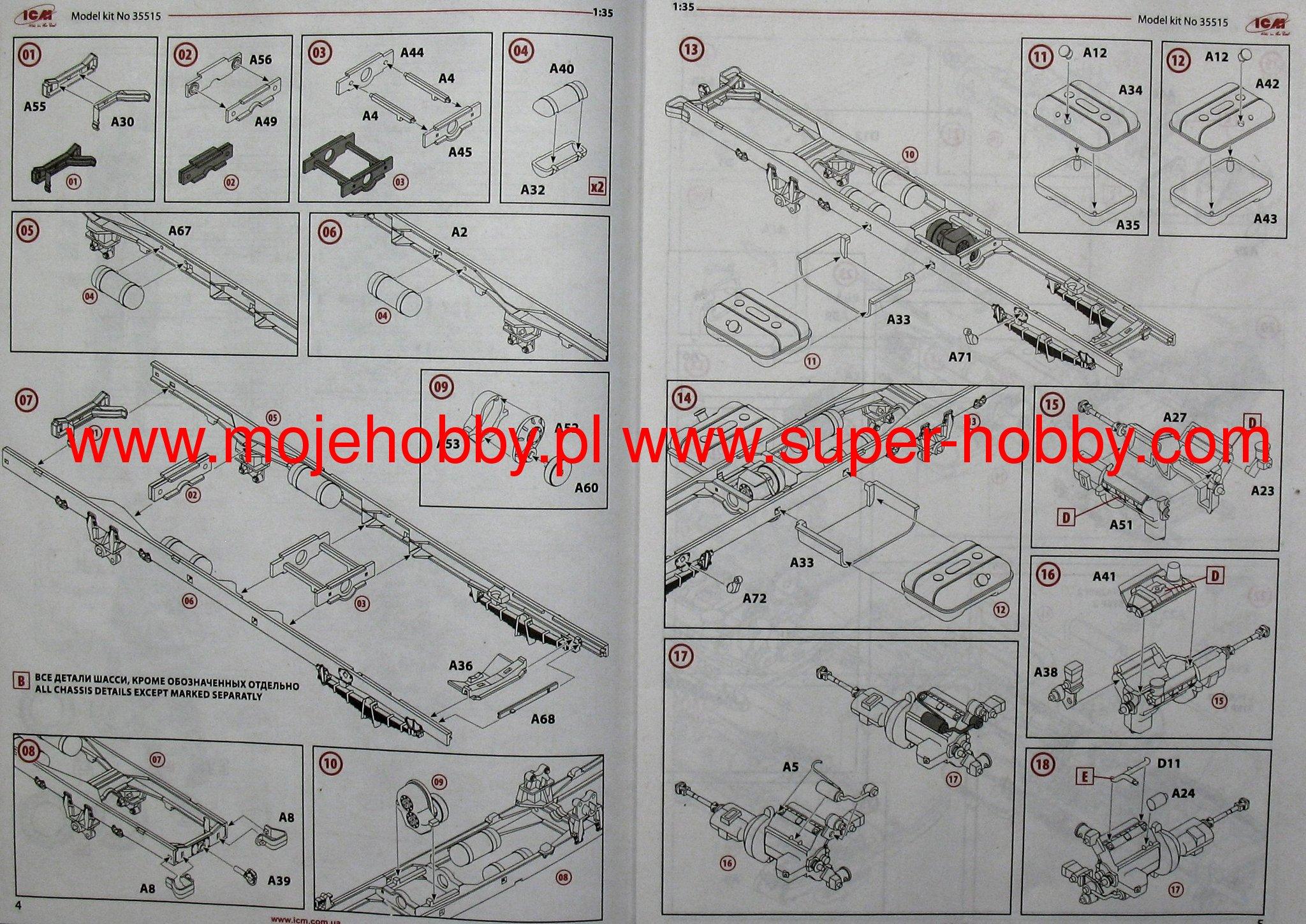 Zil 131 W Soviet Mot Rif Icm 35516 Camstat Wiring Diagram Icm Literature Wiring  Diagrams