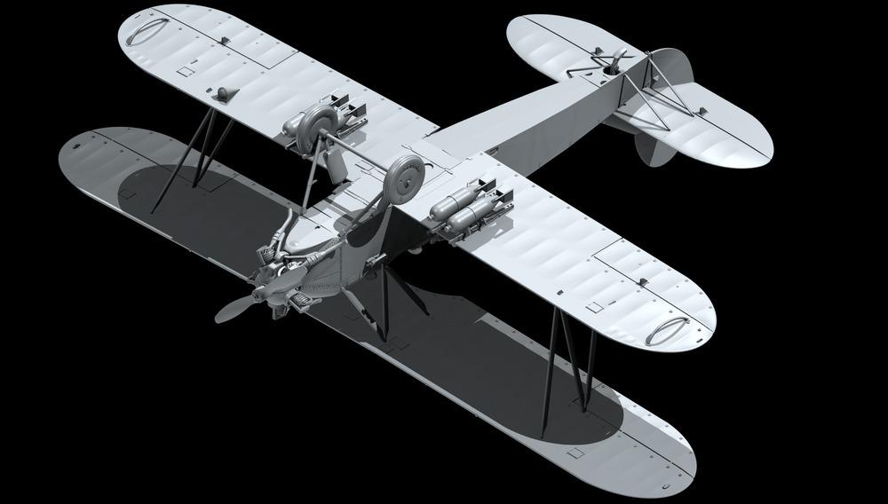 U-2/Po-2VS, WWII Soviet Night Light Bomber ICM 48252
