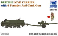 British Loyd Carrier with 6 Pounder Anti-Tank Gun - Image 1