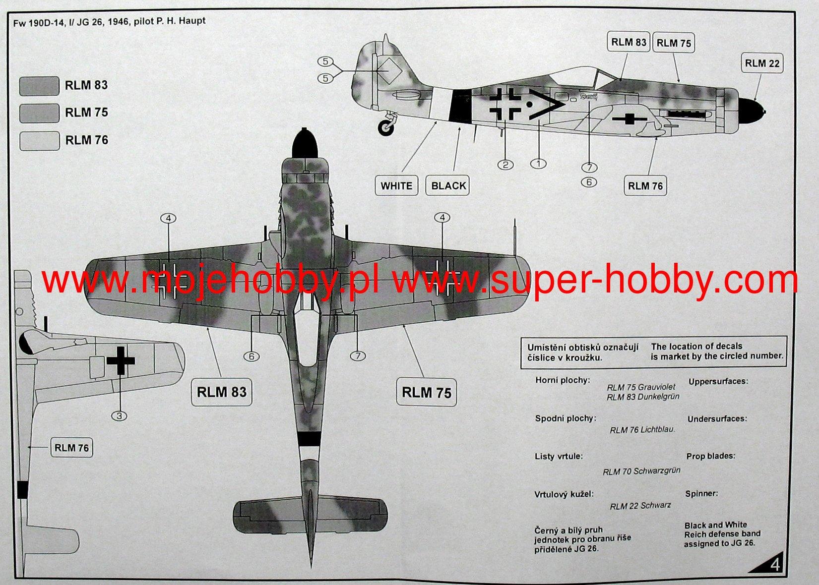 Focke Wulf Fw-190D-14