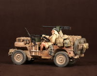 Crew of the Jeep SAS. North Africa.1941-42 #4 2 figures