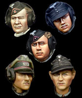 German Panzer Crew Head Set #1 - Image 1