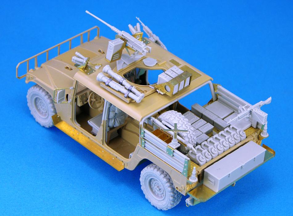 Hummer Models List >> Special Forces GMV (Dumvee) Conversion set (for Tamiya Humvees/Academy 1350/1363) Legend -LF1212
