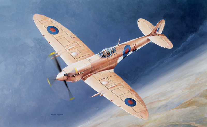 Italeri Supermarine Spitfire Mk9 Model Kit 1:72 100% Guarantee Aircraft (non-military)