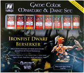 72211 Game Color - Miniature & Paint Set - Ironfist Dware Berserker