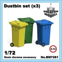 Dustbin set (3pcs.) - Image 1