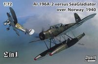 Ar 196A-2 versus Sea Gladiator over Norway 1940