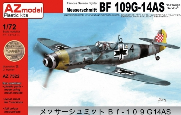 Bf-109-14AS Foreign service - Image 1