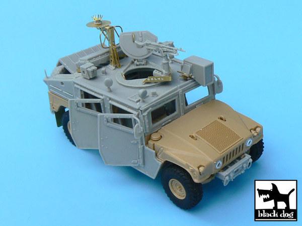 IDF Uparmored Humvee conversion set for Tamiya kit, 50+ resin parts & PE  parts