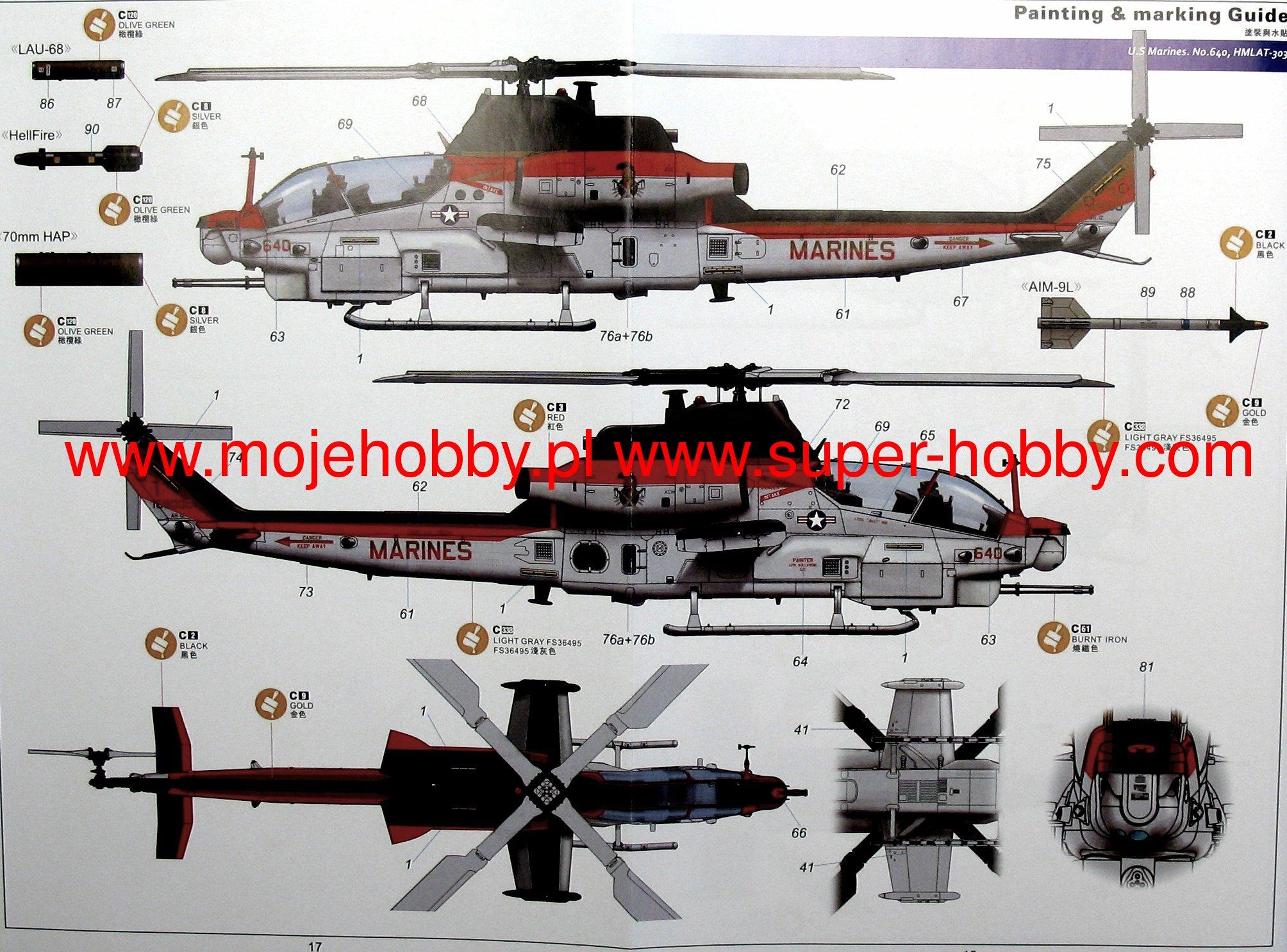 Bell ah 1z viper kittyhawk 80125 2kit8012510g publicscrutiny Images