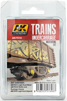 AK7010 Weathering Set Trains Undercarriage