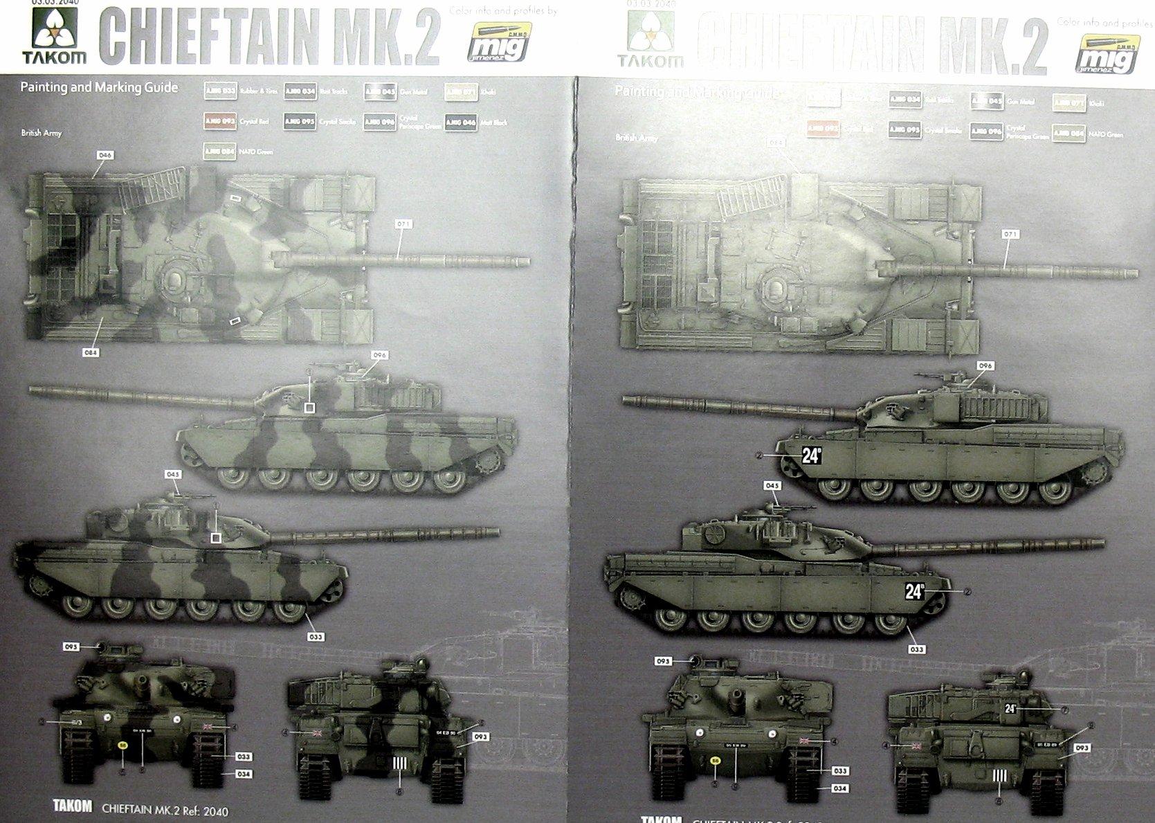 ... 2_tak2040_15.jpg ... & British MBT Chieftain Mk.2 Takom 2040