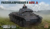 The World At War No. 005 Panzerkapfwagen II Ausf. A