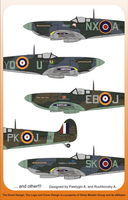 Presentation Spits Mk. II, V, IX versions - War gift - Image 1