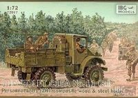 Chevrolet C15A No.11 Cab Personel Lorry (2H1 Composite Wood & Steel Body)