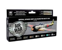 71152 Air War Color Series - Imperial Japanese Army (IJA) Colors Pre War to 1945 Set