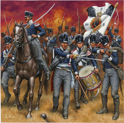 prussian infantry napoleonic wars revell 02580