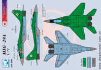 Decal for MiG-29A in Iran and North Koera ( ForTrumpeter )