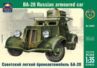 BA-20 Russian armoured car - Image 1