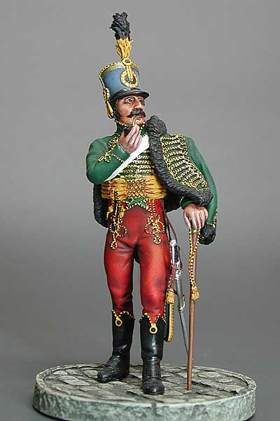 Austrian Wachtmeister,  4 th Hussars  c.1805 - Image 1