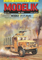 M35A2 2(1/2)T(6x6) AMERICAN CONTEMPORARY ARMY TRUCK - Image 1
