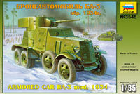 BA-3 mod. 1934 Soviet WW2 Armored Car