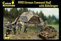 WW2 German Command Staff w/Kübelwagen