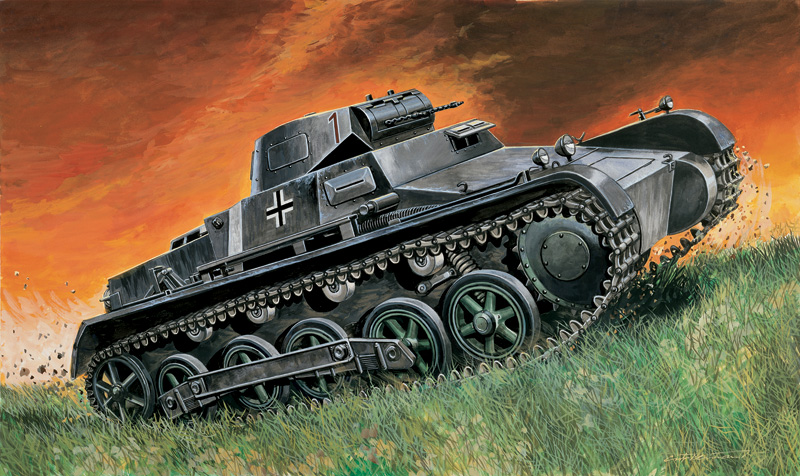 Pz.Kpfw I Ausf Tank 1:72 B