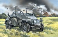 Sd.Kfz.223 WWII German radio communication vehicle - Image 1