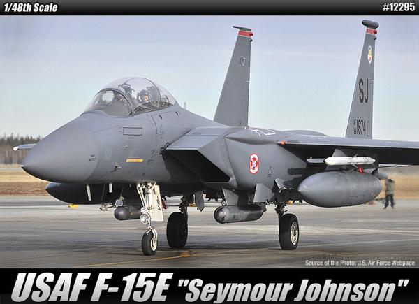 1//32 No.12 American Air Force Boeing F-15E Strike Eagle Bunker Buster Tamiya F//S