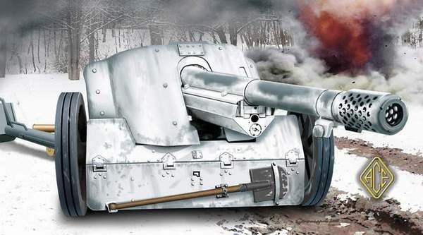 German 50 Mm Anti Tank Gun: German Anti-tank Gun 7.5cm Pak.97/38 ACE 72223