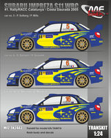 Subaru Impreza S11 WRC - 41. Rally RACC Catalunya - Costa Daurada 2005 (Resin body, decals)