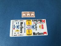 Lancia Delta S4 Decals for model kits Beemax and NUNU
