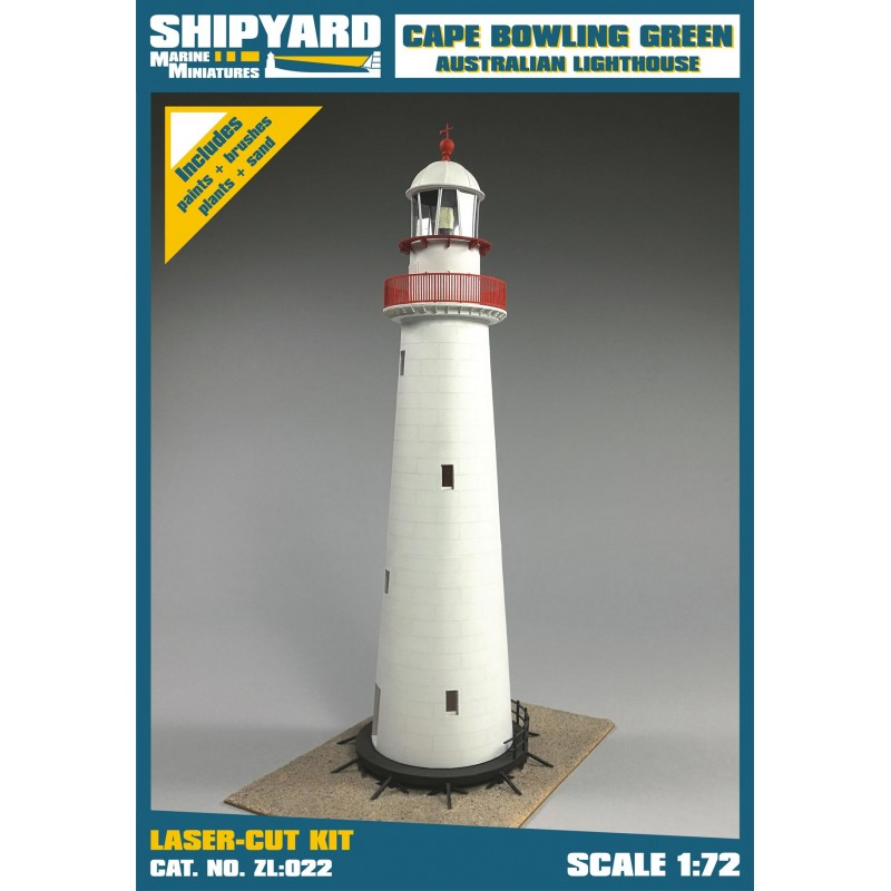Cape Bowling Green Lighthouse skala 1:72 - Image 1