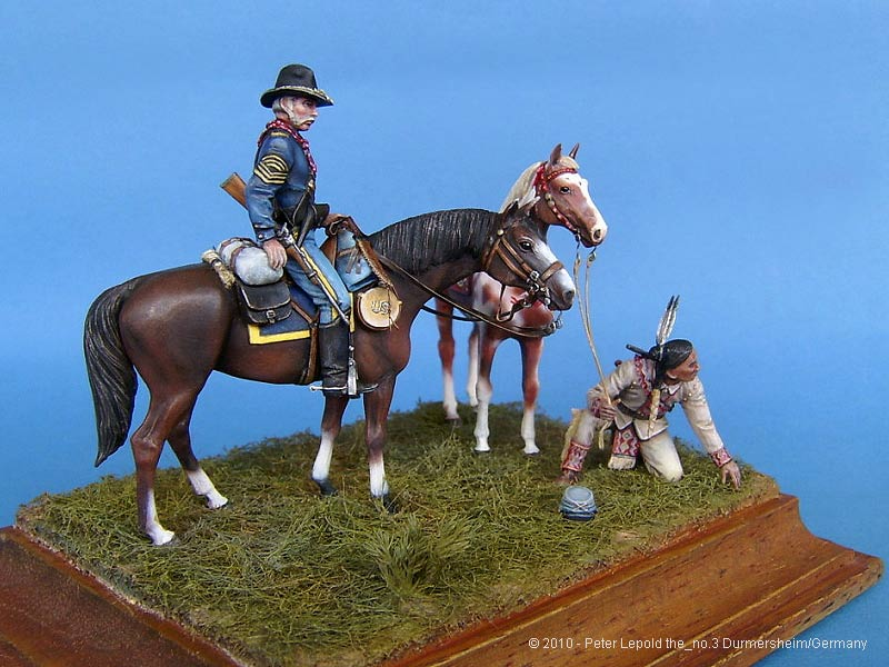Yankee Scout and Tracker Masterbox 1:35 US Civil War Series