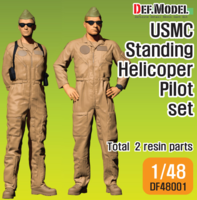 USMC Helicopter Pilot standing set - Image 1
