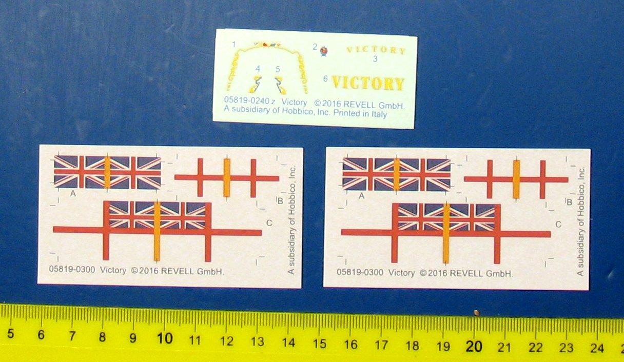 Revell HMS Victory 1:450 Model Set 65819