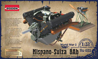 Plain engine Hispano-Suiza 8ab