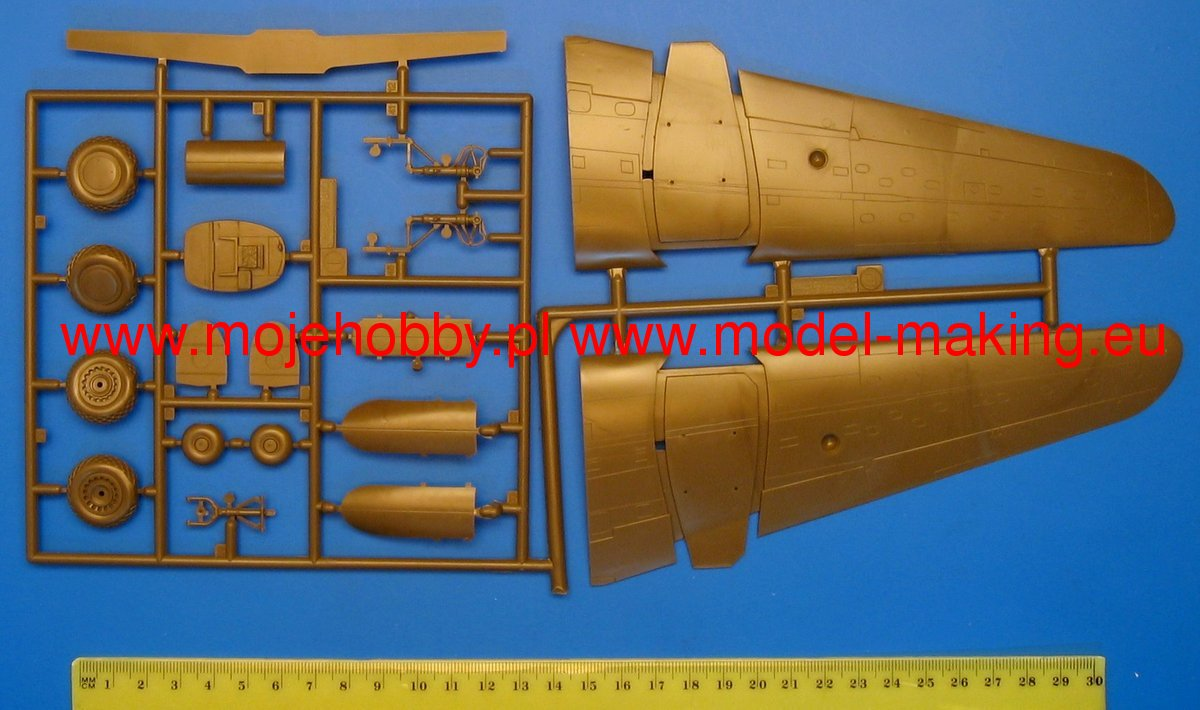 Eduard Models Photoetch for 1//48 A-20 Undercarriage for AMT//ERTL kit