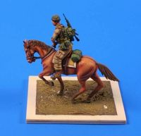 US mounted soldier in Afghanistan 1/35 ( 1 fig. + horse) - Image 1