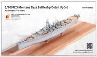 USS Montana Class Battleship Detail Up Set (Very Fire 700901, 700902)