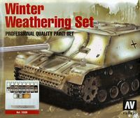 72220 Model Color - Winter Weathering Set