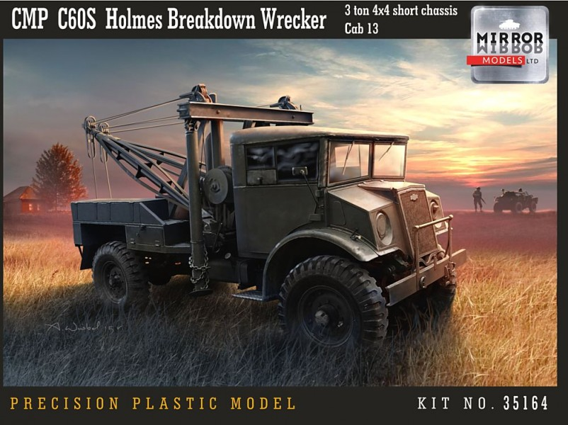 CMP C60S Holmes Breakdown Wrecker 3 ton 4x4 short chassis Cab 13