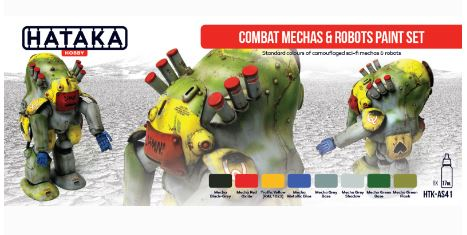 HTK-AS41 Combat Mechas & Robots paint set - Image 1