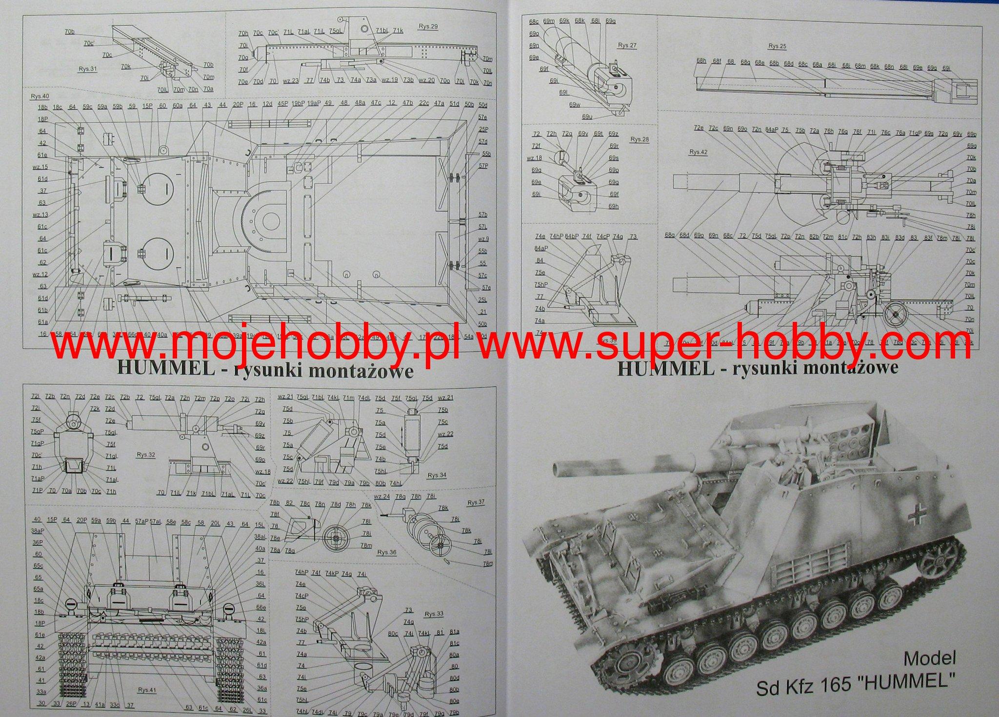 świetna jakość Data wydania: najniższa cena SdKfz 165 HUMMEL