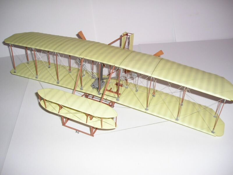 Wright Brothers First Flight Model