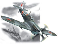 Spitfire LF.IXE WWII Soviet Air Force Fighter