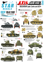 Axis & East European Tank mix # 1. Bulgarian light tanks and AFVs.