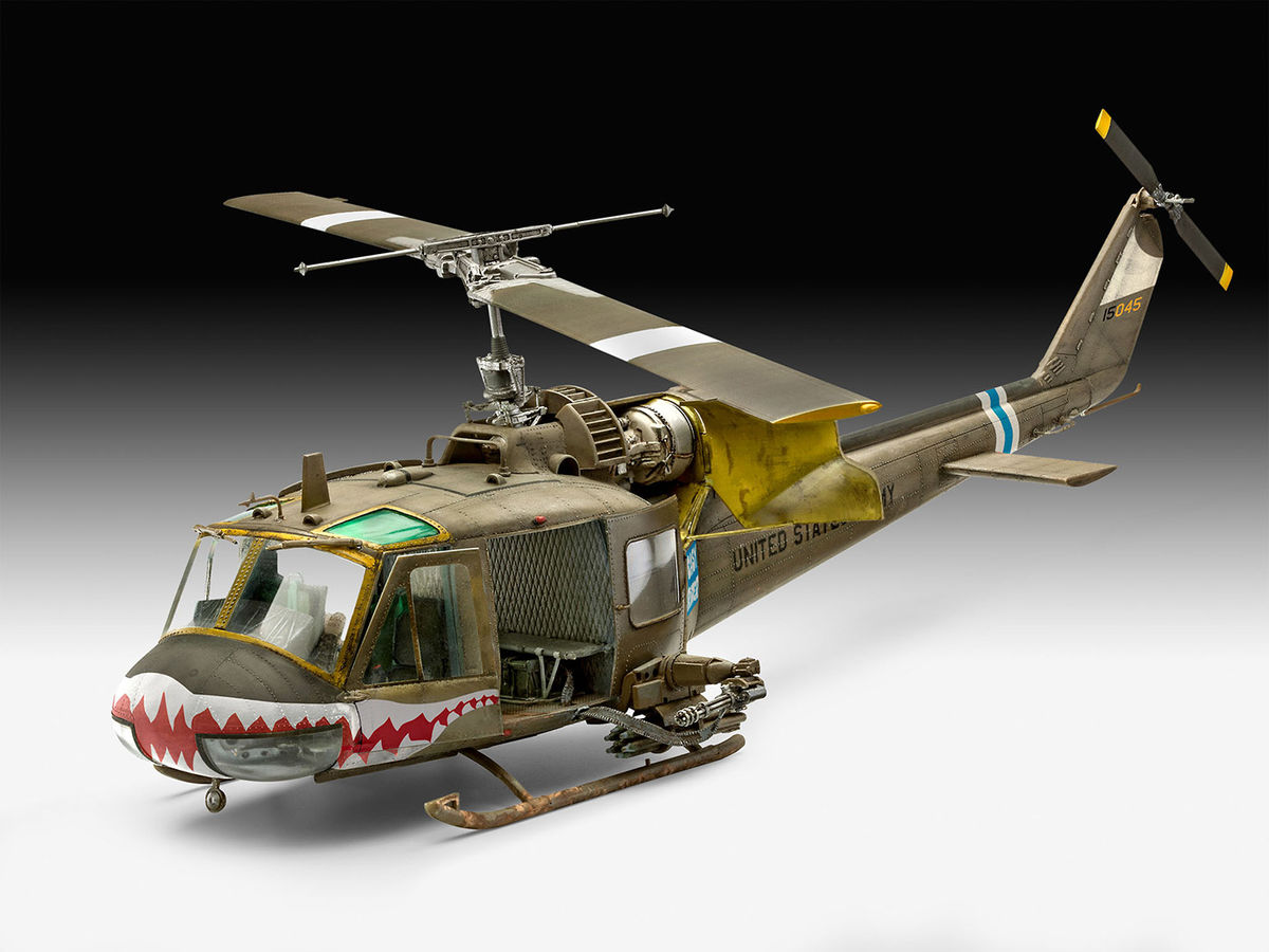 ELICOTTERO UH-1N USA Scala1//72